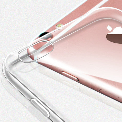 Ultra Thin Soft Clear Case Back Cover for iPhone 6s 6 Plus SE 5s 5 (Pink) - Mavasoap - 3