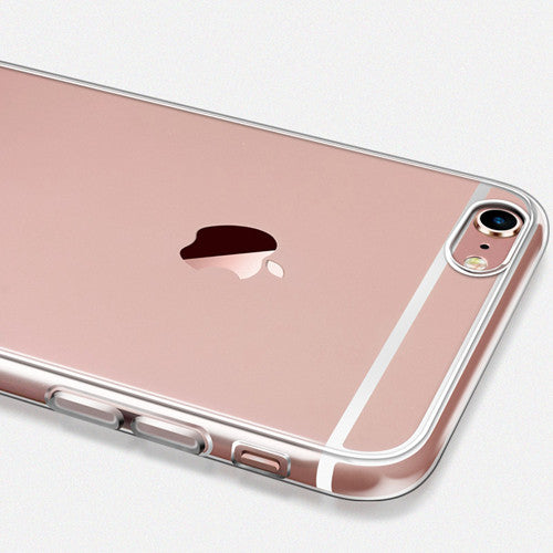 Ultra Thin Soft Clear Case Back Cover for iPhone 6s 6 Plus SE 5s 5 (Pink) - Mavasoap - 4