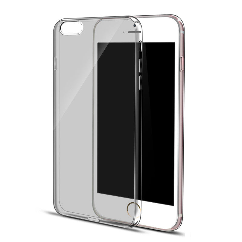 Ultra Thin Soft Clear Case Back Cover for iPhone 6s 6 Plus SE 5s 5 (Grey) - Mavasoap - 1