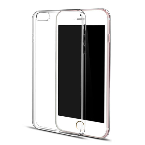 Ultra Thin Soft Clear Case Back Cover for iPhone 6s 6 Plus SE 5s 5 (Transparent) - Mavasoap - 1