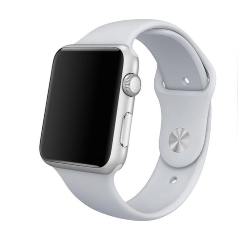 Apple Watch White Sport Band Strap - Mavasoap - 1