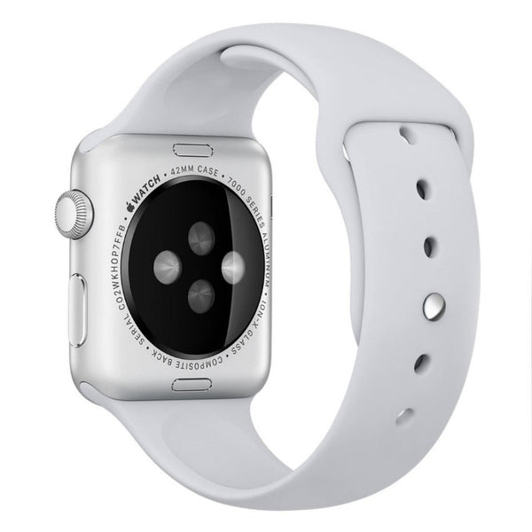 Apple Watch White Sport Band Strap - Mavasoap - 2