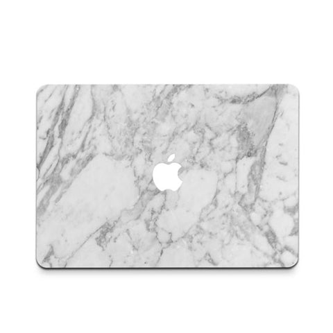 White Marble Decal Skin Set for the Apple MacBook Air Pro - Mavasoap - 1