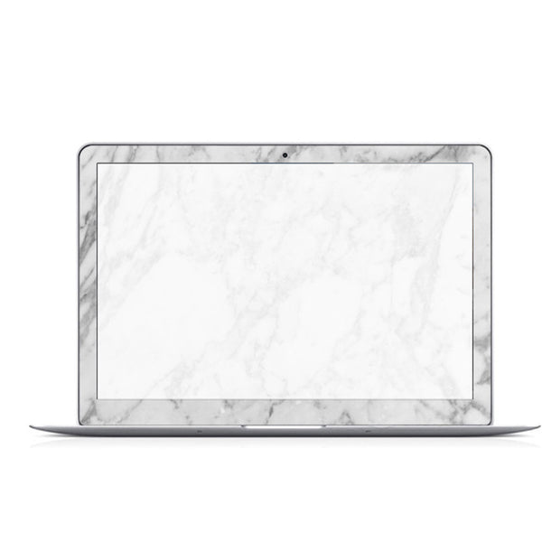 White Marble Decal Skin Set for the Apple MacBook Air Pro - Mavasoap - 2