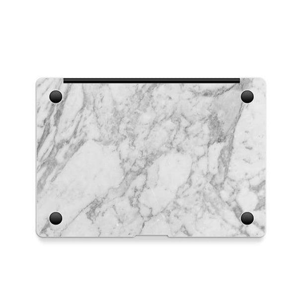 White Marble Decal Skin Set for the Apple MacBook Air Pro - Mavasoap - 4