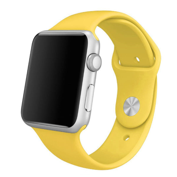 Apple Watch Yellow Sport Band Strap - Mavasoap - 1