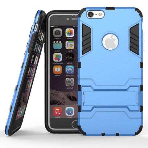 iPhone 6s 6 Plus Blue Tough Armor Protective Case - Mavasoap - 1