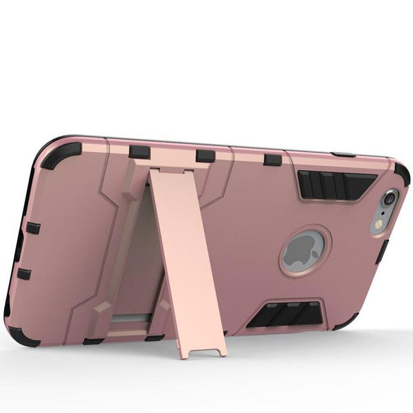 iPhone 6s 6 Plus Rose Pink Tough Armor Protective Case - Mavasoap - 6