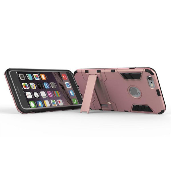 iPhone 6s 6 Plus Rose Pink Tough Armor Protective Case - Mavasoap - 5