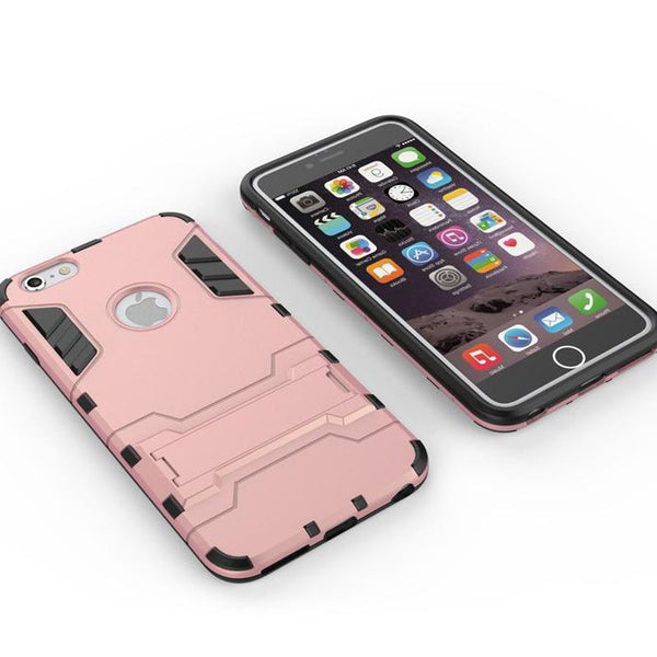 iPhone 6s 6 Plus Rose Pink Tough Armor Protective Case - Mavasoap - 4