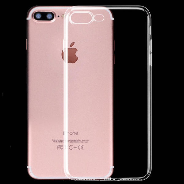Kobito Dukan Pattern iPhone 7 Plus Soft Clear Cases