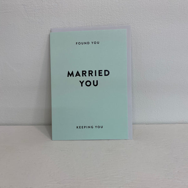 Valentine- Found You Married You Keeping You