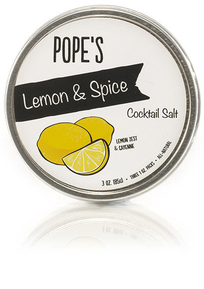 Lemon & Spice Cocktail Salt