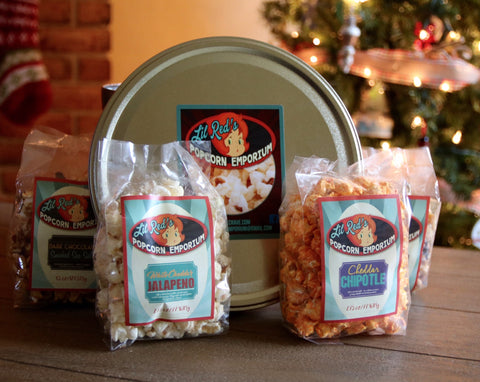 Lil Red's Popcorn Holiday Tin