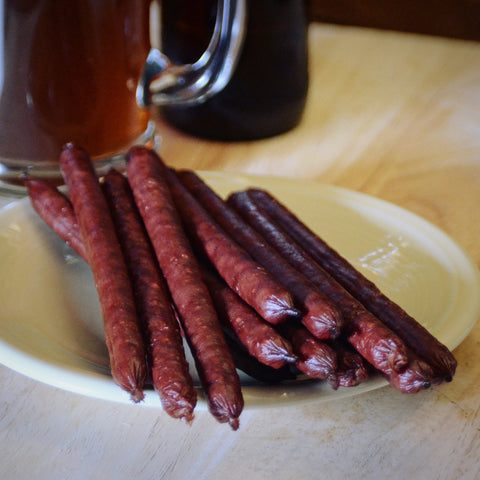 Smoked Beef Sticks make perfect gifts for dad.