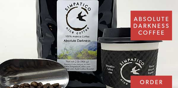 absolute darkness coffee