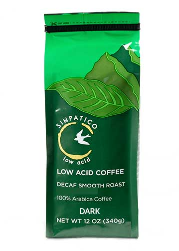 Simpatico Low Acid Decaf: Dark Smooth Roast