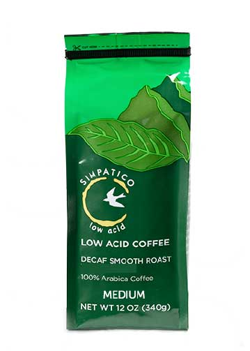 Simpatico Low Acid Decaf: Medium Smooth Roast