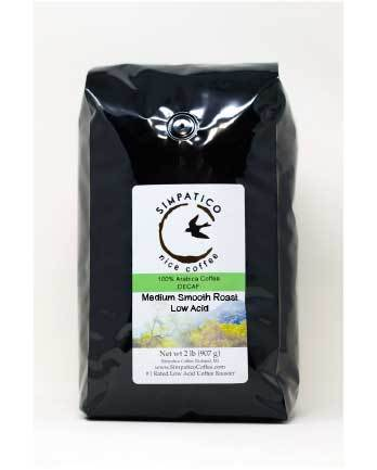 Decaf Medium Smooth Roast (Whole Bean) -2lb