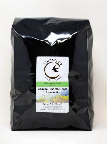 Decaf Medium Smooth Roast (Ground) -5lb