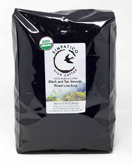 Black & Tan Smooth Roast (Whole Bean) -5lb