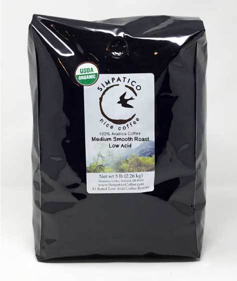 Medium Smooth Roast (Whole Bean) -5lb
