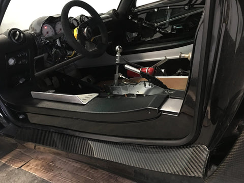 Carbon Fiber - Lower side sill cover