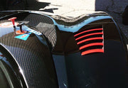 Front and Rear Wheel Arch Louvers