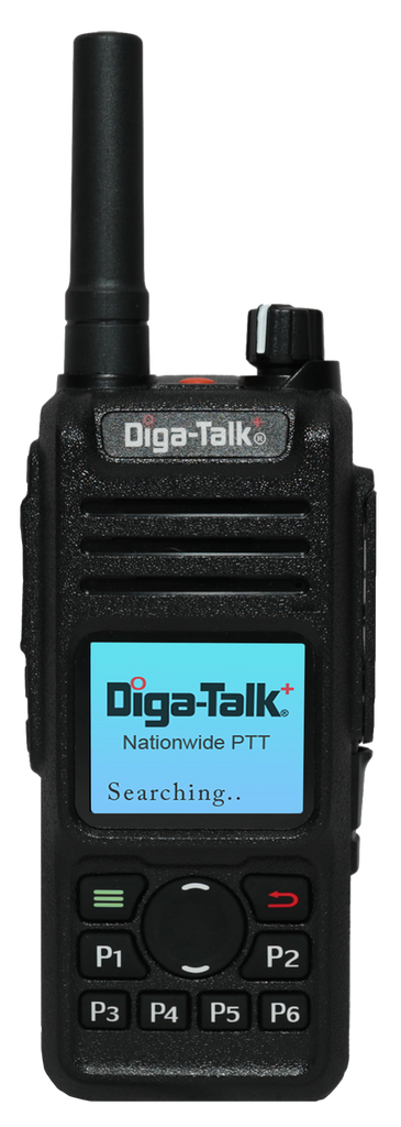 Diga-Talk+ DTP9850 Handheld Nationwide PTT Radio. *See description for full pricing details.