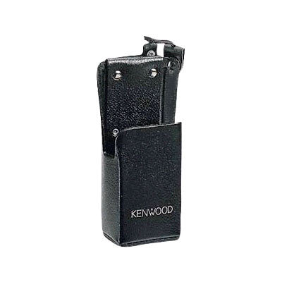 Kenwood KLH-78B, Heavy Duty Leather Case, TK-190/290/390/5400