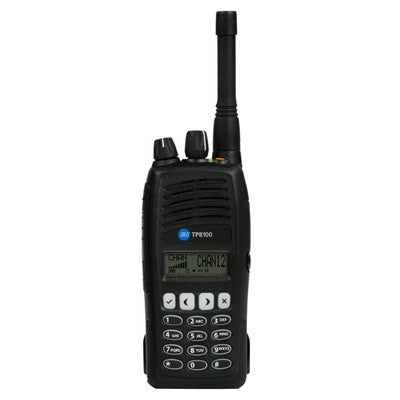 TAIT TP8120 UHF 400-470 MHz, Conventional Portable Radio w/ Keypad & Display