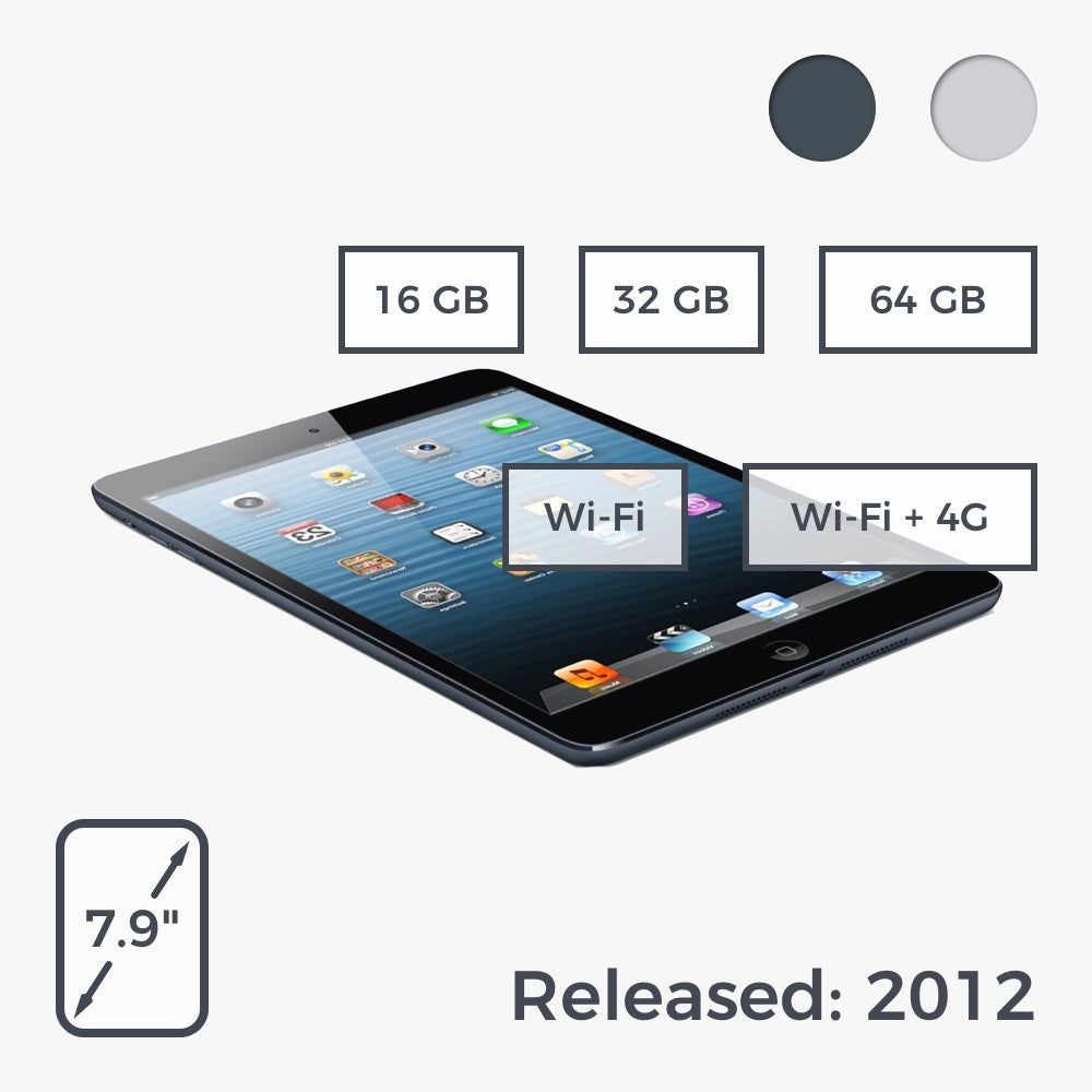 Buy iPad Mini 1 at Freestyll.com