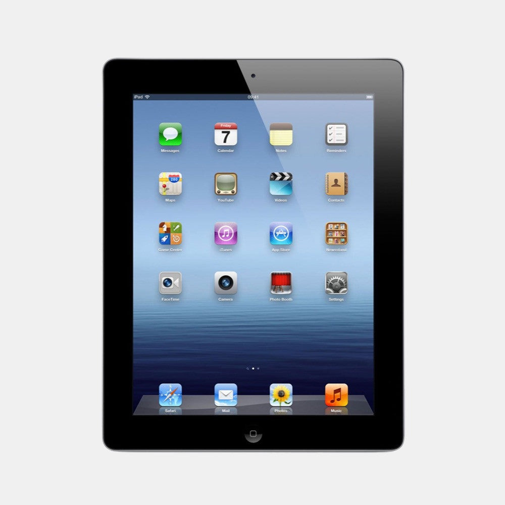 Used iPad 3 32GB 4G - Freestyll Refurbished iPads - Black