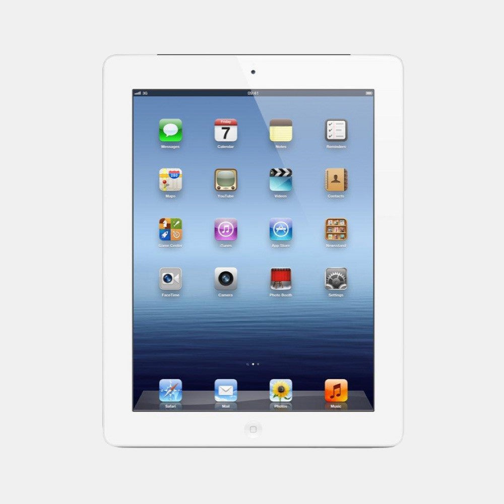 Used iPad 3 32GB 4G - Freestyll Refurbished iPads - White