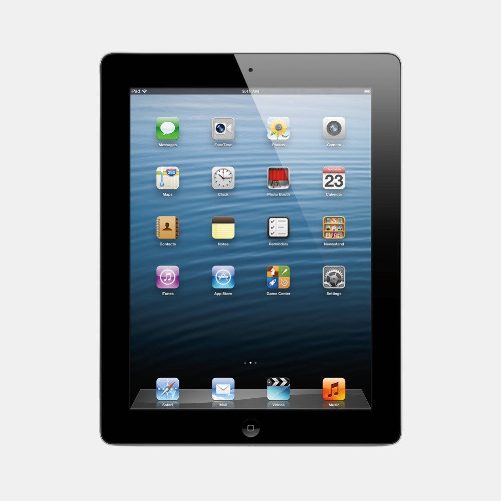 Used iPad 4 32GB 4G - Freestyll Refurbished iPads - Black