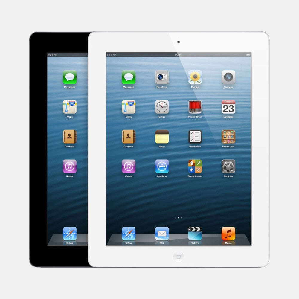 Used iPad 4 32GB 4G - Freestyll Refurbished iPads - Range