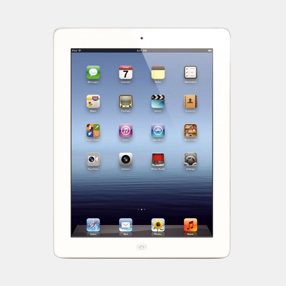 Used iPad 4 32GB 4G - Freestyll Refurbished iPads - White