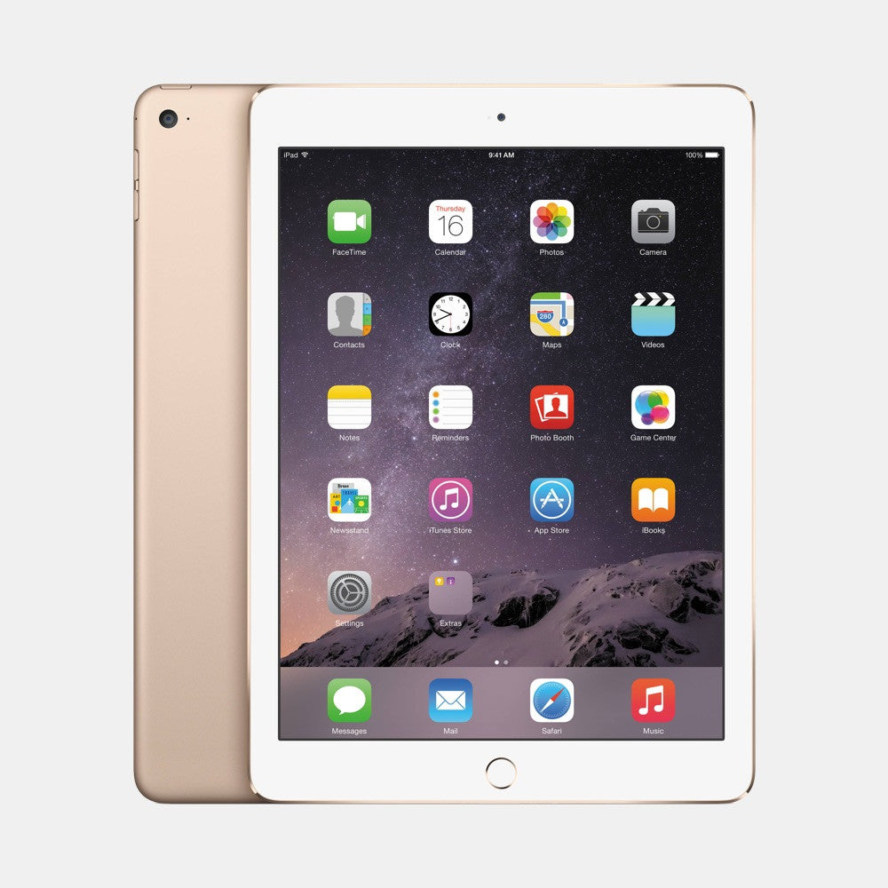 Used iPad Air 2 128GB - Freestyll Refurbished iPads - Gold