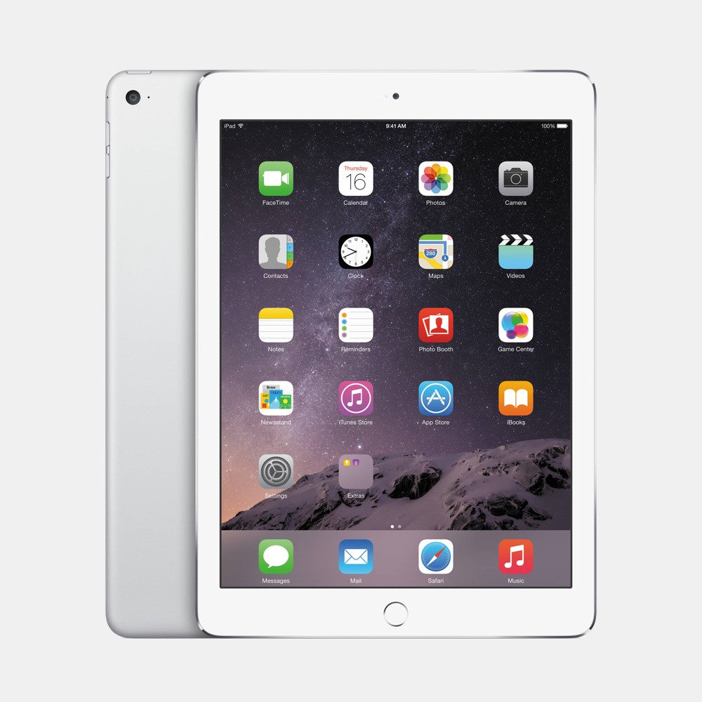 Used iPad Air 2 128GB - Freestyll Refurbished iPads - Silver