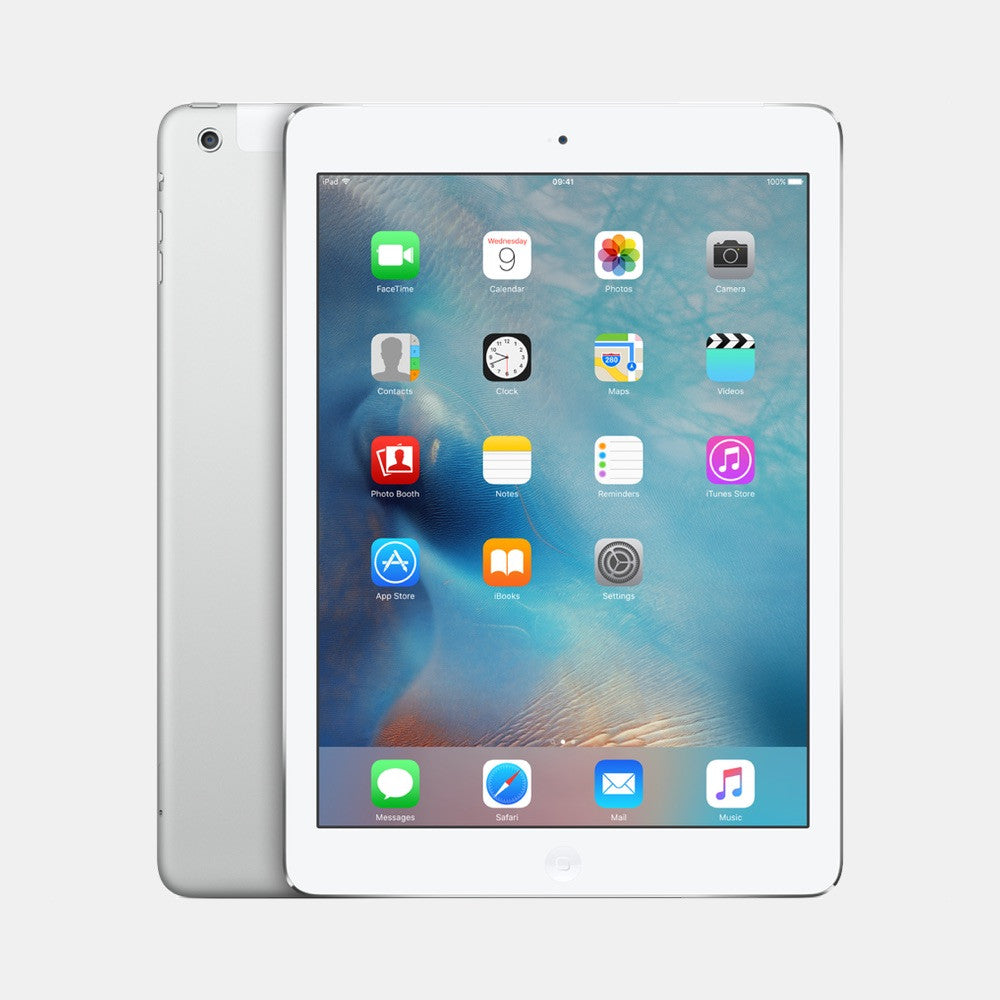 Used iPad Air 64GB 4G - Freestyll Refurbished iPads - Silver