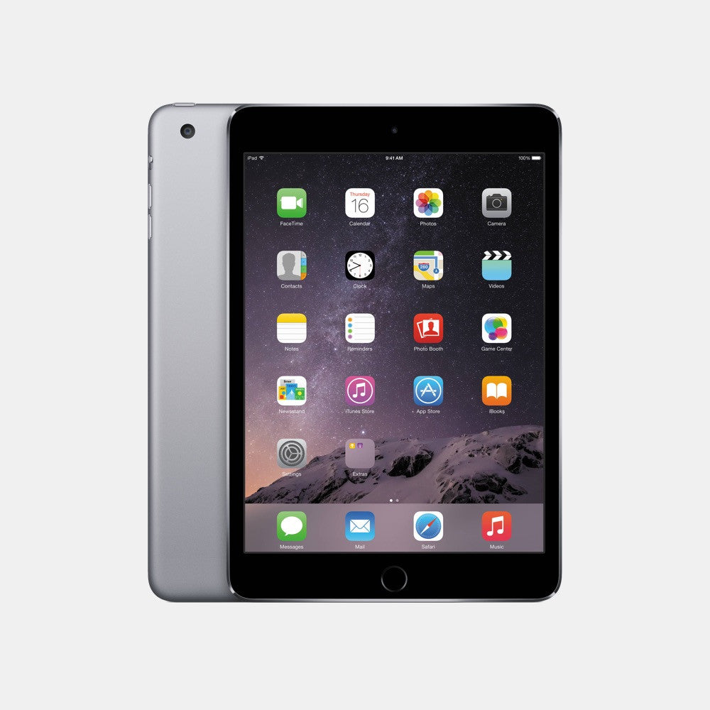 Used iPad Mini 3 128GB - Freestyll Refurbished iPads - Space Grey