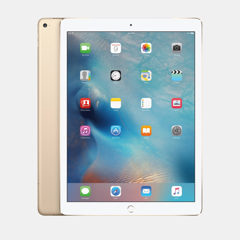 "Used iPad Pro 12.9"" 128GB 4G - Freestyll Refurbished iPads - Gold"