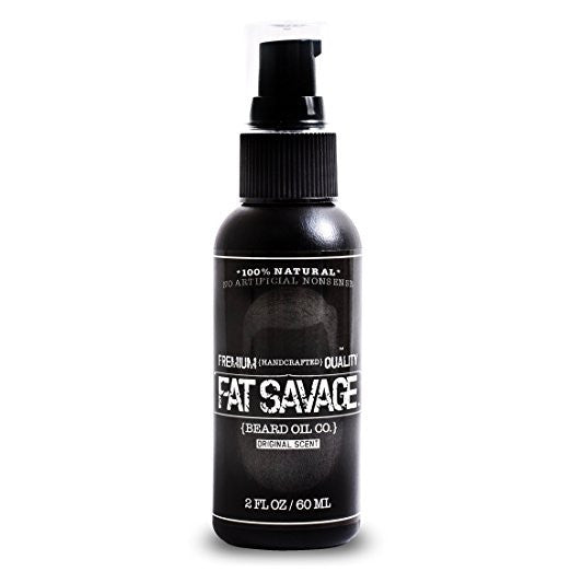 Fat Savage Beard Oil - Original Scent