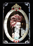 "Steampunk Siri 30 x 46"" Stained Glass Pattern. PDF VERSION"