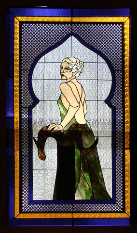 "Lady Ramsay 30 x 50"" Stained Glass Pattern PDF VERSION"