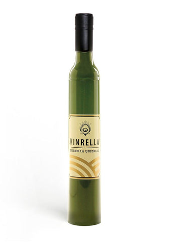 Green Labelled Bottle Umbrella
