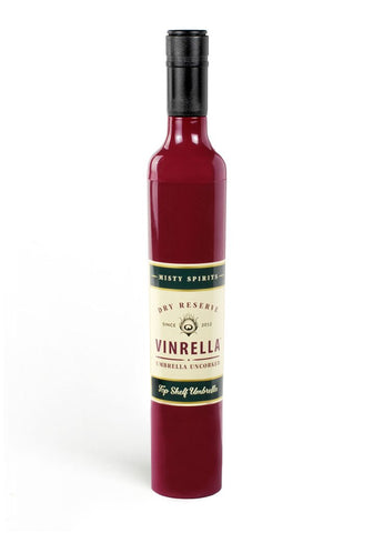 Vinrella Umbrella in a Wine Bottle Amazing Gift!