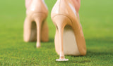 Clean Heels no more sinking into the grass!