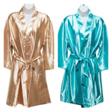 Plain Robes Colours featured Champagne and Aqua