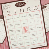 Bride Gift Bingo Games 50 Players